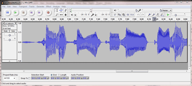 Home Recording Audacity