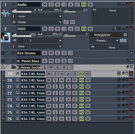 Using Kontakt Folders