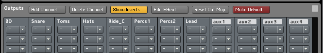 Using Kontakt Outputs