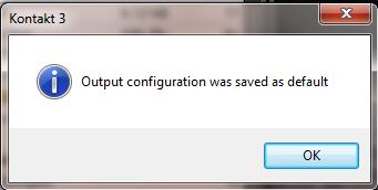 Using Kontakt Make Default