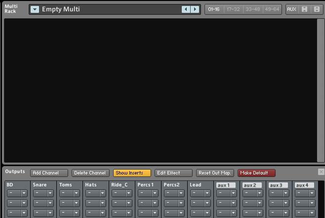 Multi Drum-Kit
