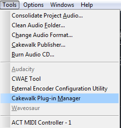 Sonar Plug-in Manager